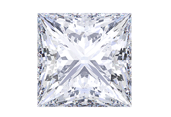Princess Shape Diamond