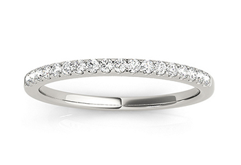 Diamond Accented Wedding Bands